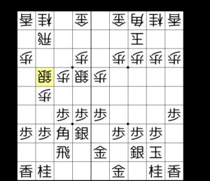 【図4-1 鳥刺し+棒銀の形】