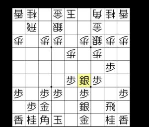 【図3-1 斜め棒銀を狙う】