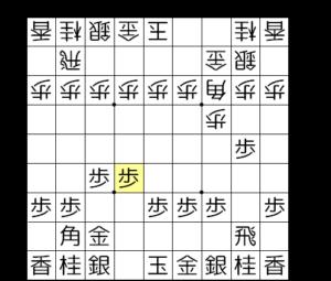【図3-2 やはり角道を閉じる】