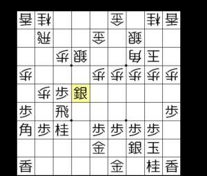 【図2-3 ▲同銀と取るパターン】