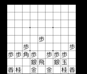 【図2-1 片美濃囲い】