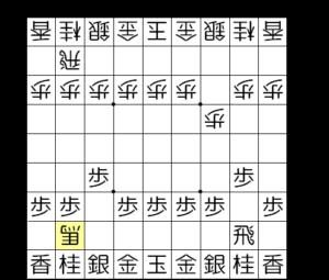 【図1-2 いきなり角交換】