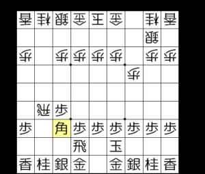 【図2-3 飛車銀両取り】