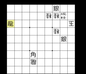 【図1-6 ここでも角が龍の利きを止める】