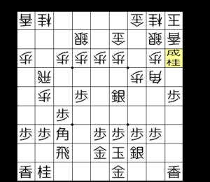 【図3-4 桂成から攻めていく】