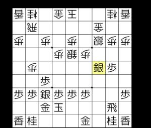 【図2-2 銀が五段目に進出】