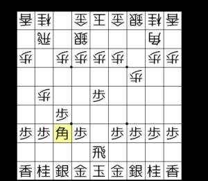 【図3-3 ゴキゲン中飛車の形に合流】