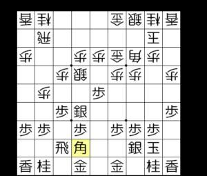 【図3-3 角を引いて飛車の道を通す】