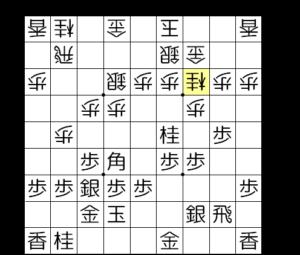 【図3-3 △3三桂としてきた場合】