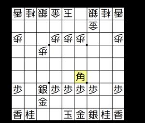 【図2-4 飛車交換から▲4六角】