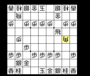 【図4-1 角交換から△2五角】