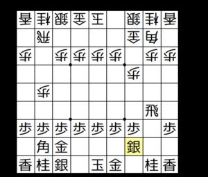 【図2-3 将来は美濃囲いを目指す】