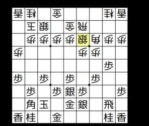 【図2-1 △3三銀型の振り飛車と戦う】