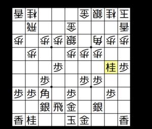 【図2-1 ▲2五桂からの仕掛け】