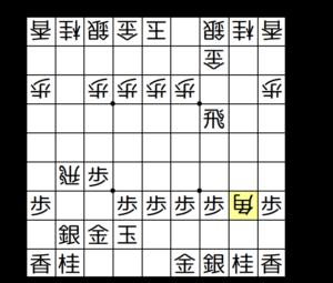【図3-1 いきなり角交換】