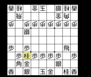 【図4-3 桂跳ねで銀の進出をブロック】