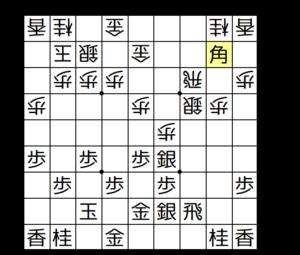 【図2-7 角交換して攻め合う】
