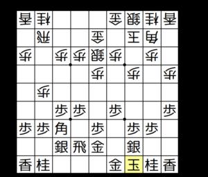 【図1-2 ▲3九玉までは囲う】