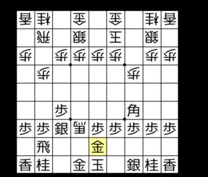 【図2-1 相手の角を捕獲】