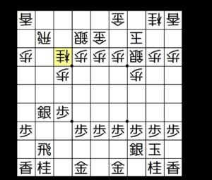 【図3-2 桂跳ねで逆棒銀が受けられる】