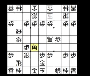 【図3-6 飛車銀両取り】