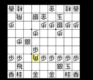 【図b-2 △4四角に▲6六角、△同角、▲同歩】