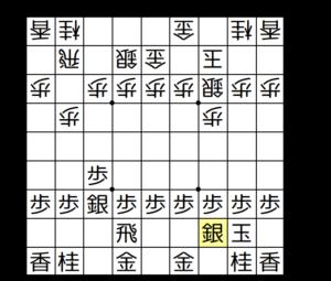 【図4-1 飛車先不突き型】