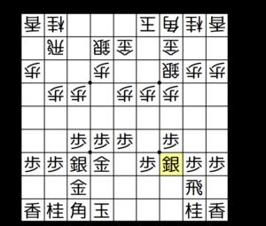 【図3-2 3七銀戦法】