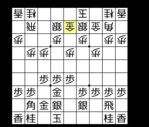 【図2-4 後手もカニ囲いを作る】