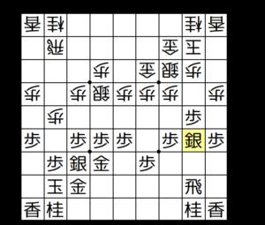 【図3-3 角交換して棒銀に】