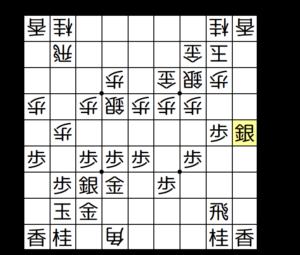 【図3-4銀香交換から端攻めを狙う】