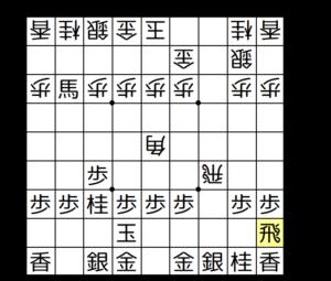 【図2-6 △9二飛がよく指されている】