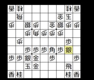 【図b-1 藤井流早囲い】