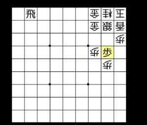 【図4-3 今度は2筋に垂れ歩!】